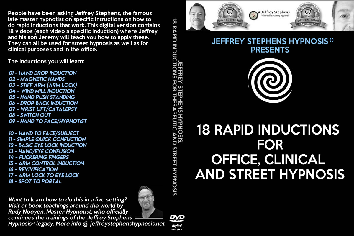 rapid inductions for office and street hypnosis
